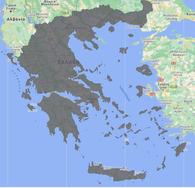 Χάρτης covid-19